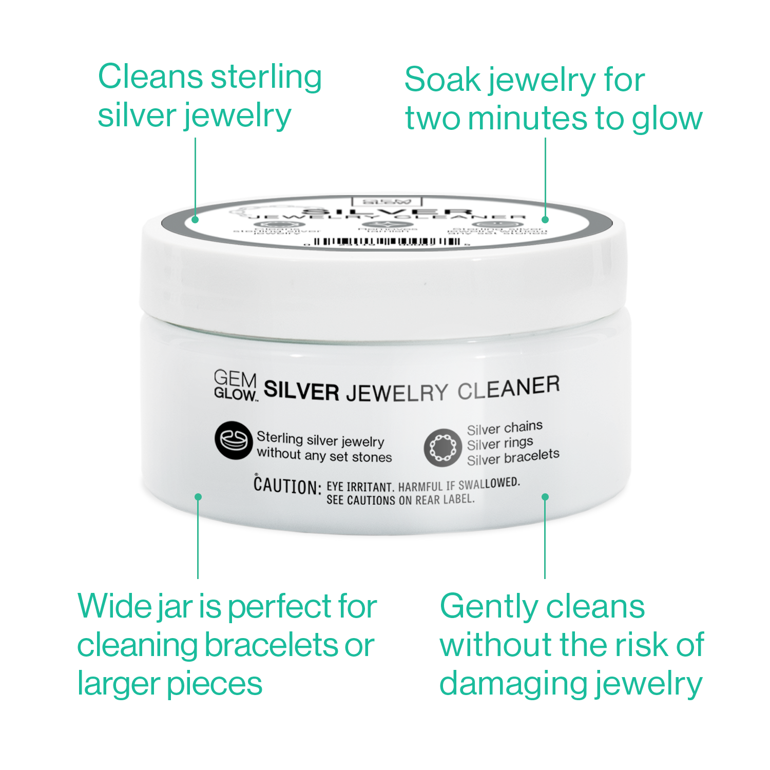 Silver Jewelry Cleaner - Removes Tarnish From Sterling ...